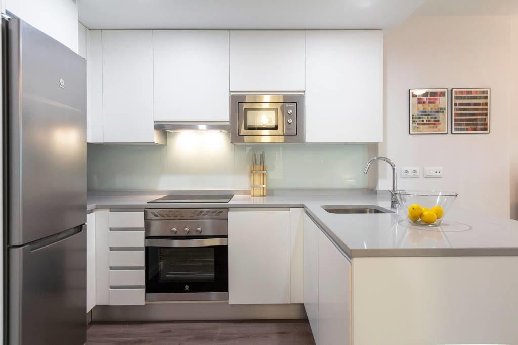 Cocina apartamento MUN Madrid
